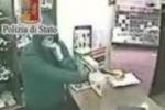 Banditi in gioielleria a Palermo, le immagini
