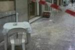Vento a Palermo, passante ferito dalla caduta di calcinacci