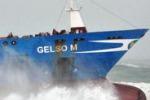 Da Tgs. Mare mosso e vento: lento il recupero della Gelso M