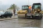 Palermo, lavori agli sgoccioli alla Cala