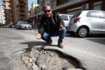 Palermo e le strade dissestate