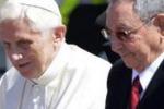 Cuba, Benedetto XVI incontra Raul Castro in attesa di Fidel