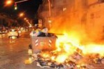 Da Tgs. Cassonetti ancora in fiamme a Palermo