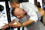 Obama, fuori programma in una pizzeria della Florida