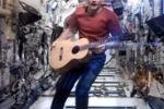 Comandante saluta la Stazione Spaziale in musica: il video