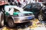 Maxi tamponamento in Cina: 56 veicoli coinvolti, 9 morti