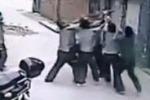 Cina, precipita dal quinto piano: bimba presa al volo si salva