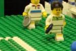 Tennis, la finale di Wimbledon si gioca con i Lego