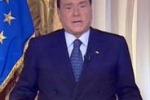 """Sentenza Mediaset. Videomessaggio Berlusconi: """"Accanimento mai visto"""""""