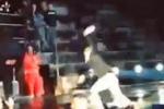 Arena di Verona, Ligabue in concerto cade sul palco