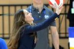 Kate e la pallavolo: la duchessa scende in campo