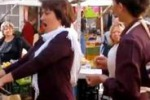La Carmen al mercato, il flashmob lirico a Livorno