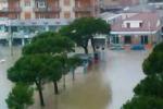 Maltempo, allagamenti e disagi a Pescara e Castellaneta