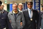 Mafia, estradato dalla Thailandia Palazzolo torna in Italia