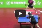 A Taiwan la partita di ping pong più spassosa di sempre