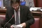 """Imu-Bankitalia: Tofalo (M5S) grida alla Camera """"Boia chi molla"""""""
