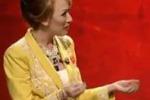 Virginia Raffaele imita la Pascale a Ballarò: le immagini