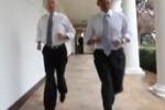 Obama fa jogging alla Casa Bianca: le immagini