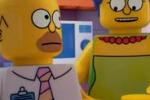 Tv, arrivano i Simpson in versione Lego: il trailer