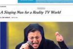 Suor Cristina sbarca sulla prima pagina del New York Times