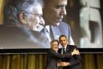Obama a cena con Spielberg e Springsteen
