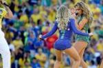 Mondiali, si parte: a San Paolo colori, musica... e sensualità