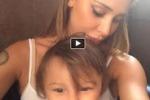 Belen condivide un video con Santiago, insulti sul web