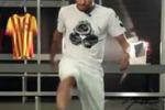 Neymar e le prodezze con un... chewing gum