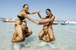 Relax di fine estate sulla spiaggia di Mondello