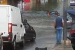 Troppi tombini ostruiti dal fango a Mazara, le strade si trasformano in fiumi
