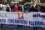 Fincantieri, protesta dell'indotto
