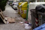 Piazza Armerina, rifiuti ingombranti nell'area dell'ex mercato ortofrutticolo