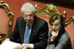 """Monti: """"Otto miliardi contro la disoccupazione giovanile"""""""