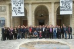 Teatro Vittorio Emanuele, si ferma la protesta dei dipendenti
