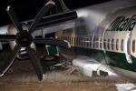 Aereo fuori pista a Fiumicino, 16 feriti. Alitalia: colpa del forte vento