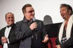 Los Angeles-Italia, Al Pacino premia Bono degli U2