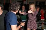 Alessia Marcuzzi, balli scatenati con il suo Paolo