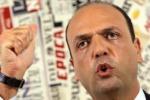 """Alfano: """"Non scenderemo in piazza per Berlusconi"""""""