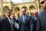 """Alfano a Caltanissetta: """"Siamo nella capitale dell'anti-racket"""""""