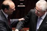 """Casini: """"Il futuro è Monti"""", ma Alfano frena"""