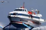 Paura a Milazzo, barca travolta da un aliscafo