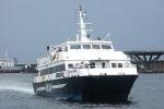 Catamarano urta aliscafo: nessun ferito