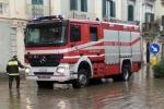 I danni del maltempo a Marsala: crolli, strade al buio e allagamenti