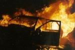 Scicli, incendiata auto nella notte: famiglia nel mirino di un piromane