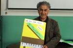 Fuad Aziz a Enna, messaggio di pace con i disegni