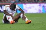 La Roma batte il Milan, Balotelli sostituito e furioso