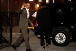 Obama, cena romantica con la moglie