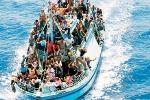 Nuovo sbarco a Lampedusa all'alba