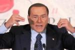 """Berlusconi: """"Stimo Grasso ma era meglio se non si candidava"""""""