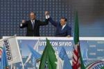"""Berlusconi: """"Si torni al voto"""""""